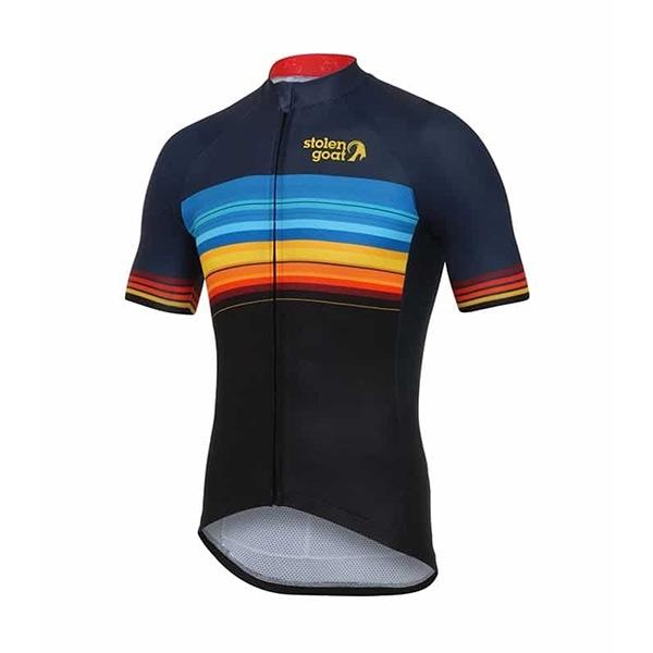 Stolen Goat Sundown Short Sleeve Cycling Jersey - Herr 13d49fb70