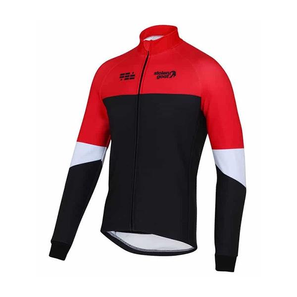 Stolen Goat Climb   Conquer Winter Cycling Jacket Fire Red - Herr d71c1b6e1