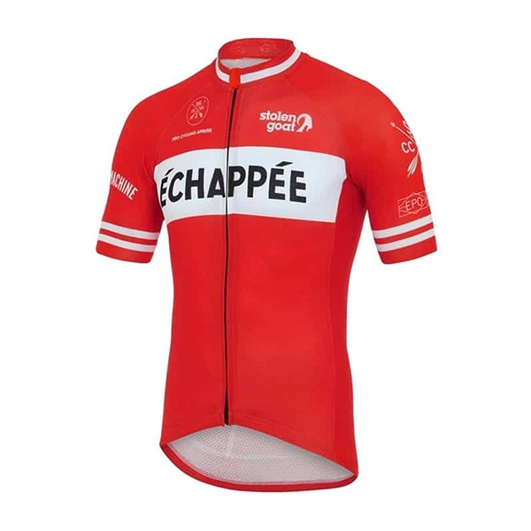 Stolen Goat Echappee Red Cycling Jersey - Herr 9f2e3071e