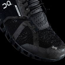 On Cloud Waterproof Black/Lunar - Herr
