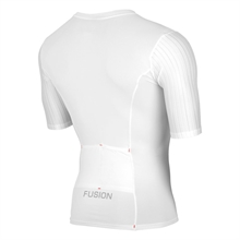 Fusion SLI Tri Top Short Sleeve Unisex - White