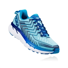 Hoka CLIFTON 4 Blue Topaz / Imperal Blue Dam